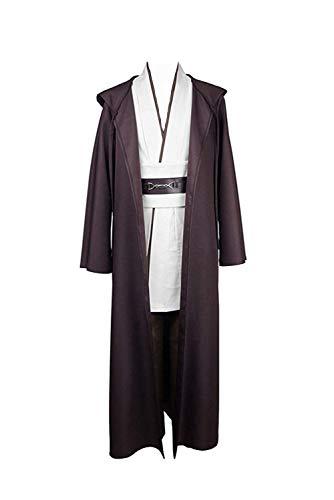 Disfraz de Jedi de Star Wars, tallaje europeo, para adultos...