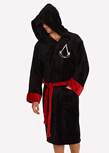 Groovy Assassin's Creed - Albornoz con capucha, poliéster,...