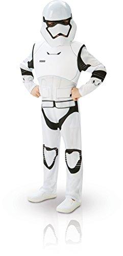 Star Wars - Disfraz de Stormtrooper, Episode 7, Deluxe, para...