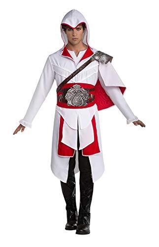 Assassin's Creed Ezio Men's Costume (White) - Large 44
