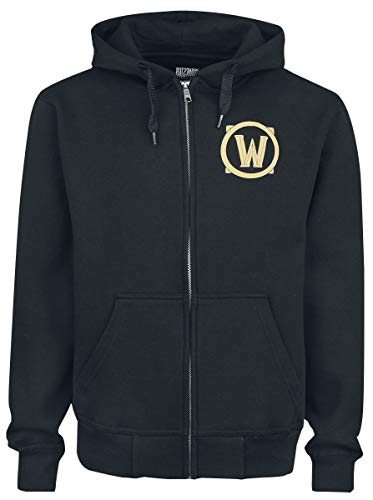 Warcraft Chaqueta con Capucha World of Alliance Shield Logo...