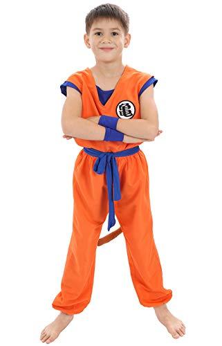 CoolChange Disfraz de Son Goku para niños | Traje de...