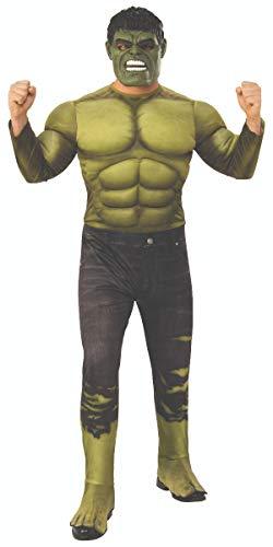 Marvel - Disfraz de Hulk para hombre (Infinity Wars), Talla...