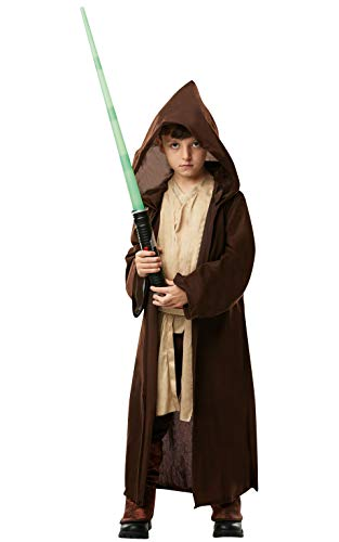 Star Wars - Disfraz Túnica Jedi Premium para niños,...