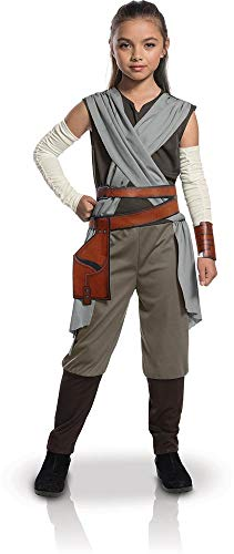 Star Wars - Disfraz de Rey Premium para niña, infantil 5-7...
