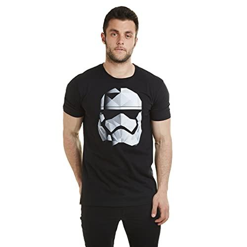 Star Wars Geo Trooper Camiseta, Negro, XL para Hombre