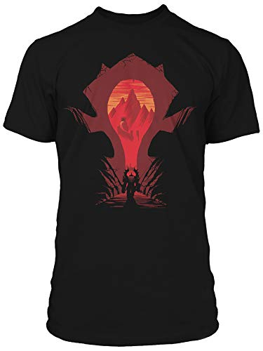 Men's World of Warcraft Horde Silhouette T-Shirt Medium
