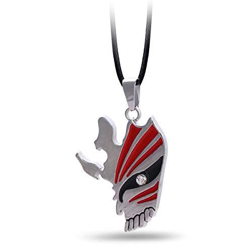 Onlyfo Bleach Kurosaki Ichigo's Mask - Collar con Colgante...