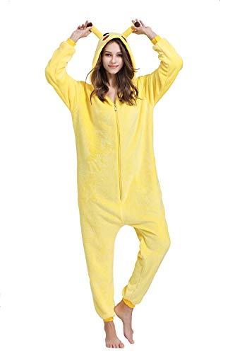 Yimidear Unisex Cálido Pijamas para Adultos Cosplay...