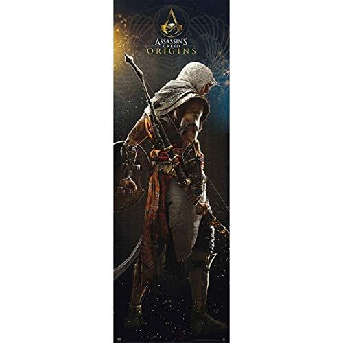 Grupo Erik Editores Puerta - Poster con diseño Assassins...