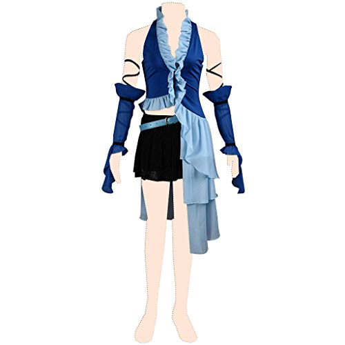 Final Fantasy X Disfraz cosplay yuna 3rd ver-singing girl...