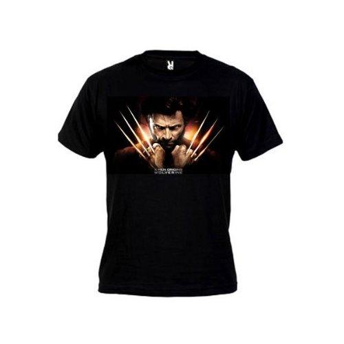 Mx Games Camiseta Lobezno x-Men (Talla: Talla L Unisex...