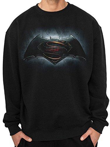 I-D-C CID Batman V Superman Logo–Sudadera para Hombre,...