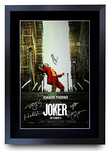 HWC Trading Joker The Cast Joaquin Phoenix Zazie Beetz Marc...