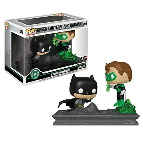 Funko Figura Pop Batman y Linterna Verde - DC Comic Moments