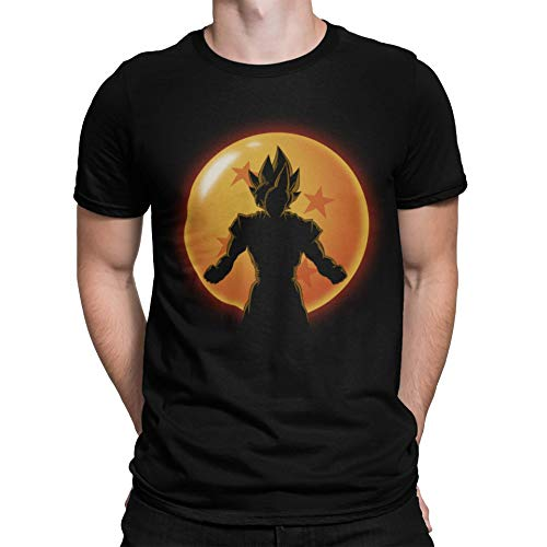 4523-Camiseta Premium,Super Saiyan Hero (ddjvigo)-M