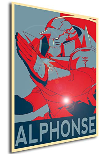 Poster Full Metal Alchemist'Propaganda' Alphonse - FMA - A3...