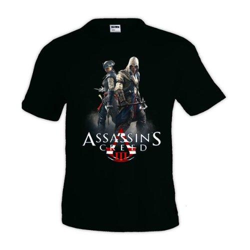 Mx Games Camiseta Assassin´s Creed III - Connor y Aveline...