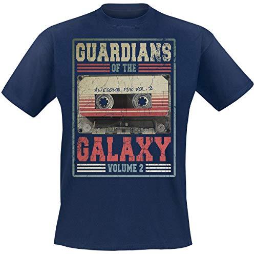 Guardianes De La Galaxia 2 - Mixtape Vol. 2 Hombre Camiseta...