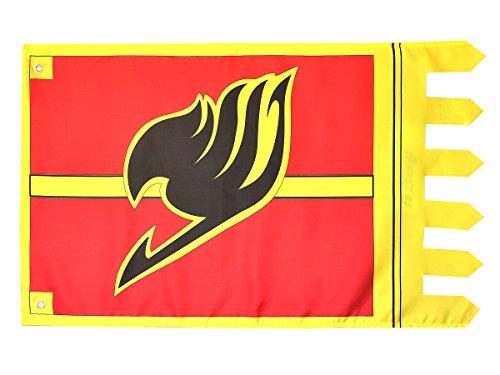 CoolChange Bandera Fairy Tail con símbolo del Gremio de los...