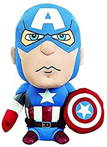Funko AVG01836 MARVEL Medium Talking Captain America Plush...