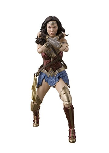 BANDAI–Justice League 57552SH Figuarts–Wonder...