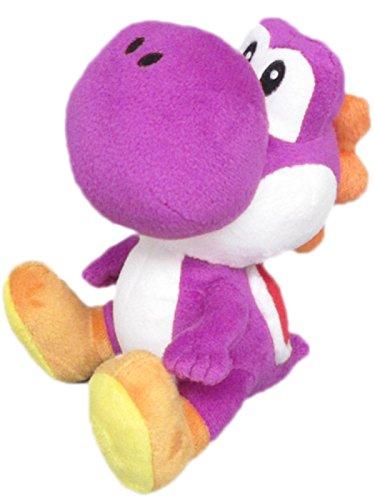 Namco Bandai - Peluche Purple Yoshi Small De 17 cm, Plush