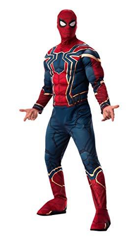 Marvel - Disfraz de Spiderman Iron Spider para hombre...