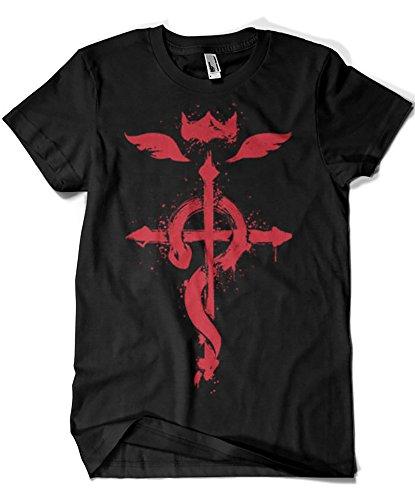 3412-Camiseta Premium, Fullmetal Alchemist - I Am Alchemiste...
