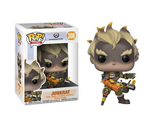 Funko 29045 Overwatch 29045 Games Junkrat Pop Vinyl Figure,...