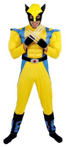 César - Disfraz para Hombre Lobezno X-Men (Marvel B463-001)