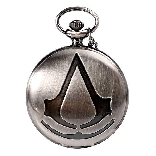 Assassin's Creed Steampunk - Reloj de bolsillo analógico de...