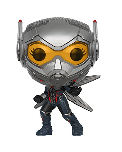 Funko- Pop Bobble: Marvel: Ant-Man & The Wasp w/Chase Man...