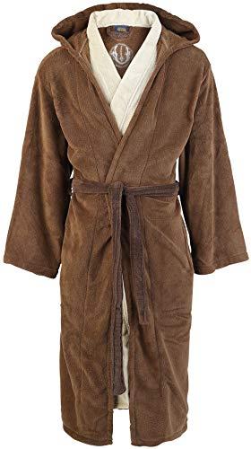 Star Wars Jedi Unisex Bata marrón/beige, 100% poliéster,...