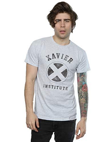 Marvel hombre X-Men Xavier Institute Camiseta X-Large cuero...