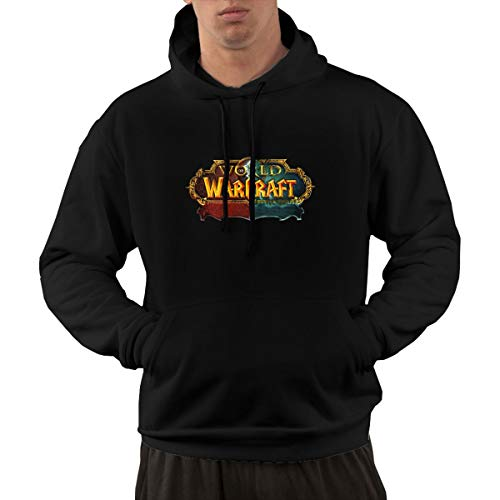 Wuyouhua World of Warcraft - Sudadera Deportiva con Capucha...