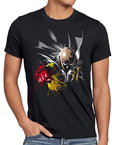 style3 Saitama Punch Camiseta para Hombre T-Shirt One Anime...