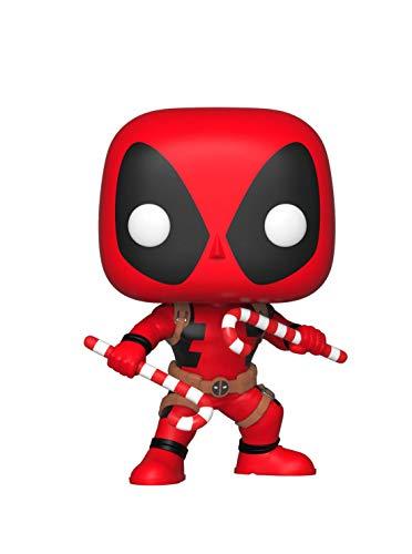 Funko 33985 POP Bobble: Marvel: Holiday Deadpool w/ Candy...