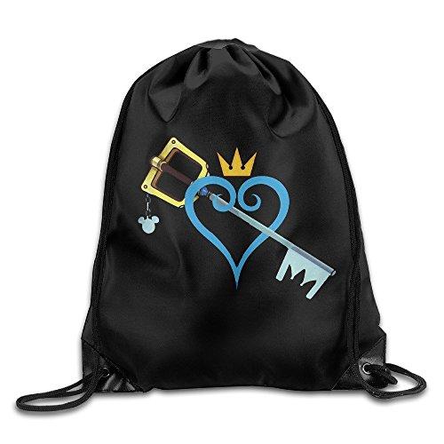 Liuzhis Kingdom Hearts Sword - Mochila deportiva con cordón