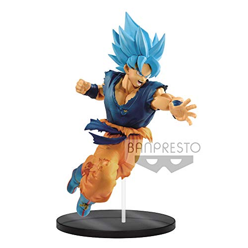 Dragon Ball - Figurina Super Saiyan God Son Goku Attaquant...
