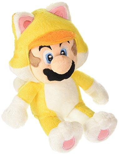 Namco Bandai - Peluche Cat Mario De 25 cm, Plush