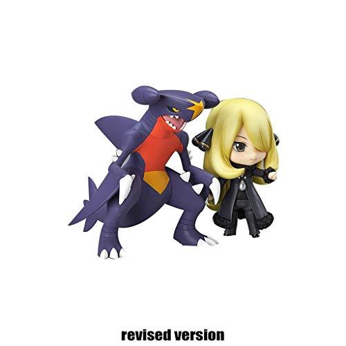 Yingjianjun Pokémon Cynthia Garchomp Figura Figura de...