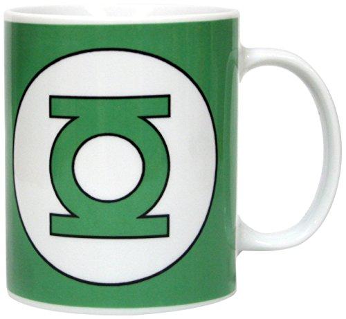 SD Toys SDTWRN02993 - Taza de cerámica, logo Green Lantern,...