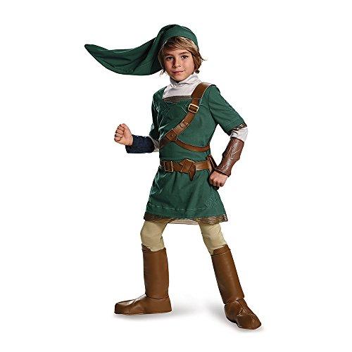 Disguise Link Prestige Legend of Zelda Nintendo Costume,...