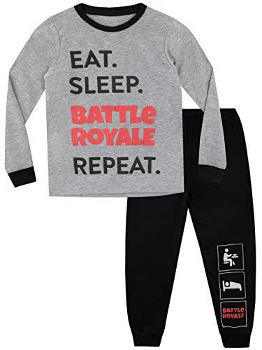 Battle Royale Pijama para Niños Gaming Multicolor 10-11...