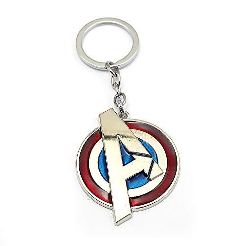 JLZK Avengers 4 Gauntlet Llavero Oro golve Thanos Axe...