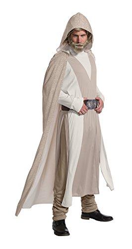 Star Wars The Last Jedi Deluxe Luke Skywalker Adult Fancy...