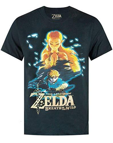 Zelda The Legend of Breath of The Wild' Camiseta de Manga...