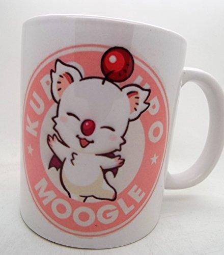 Moogle Final fantasy 7 8 9 10 11 12 13 VII Starbucks Parody...