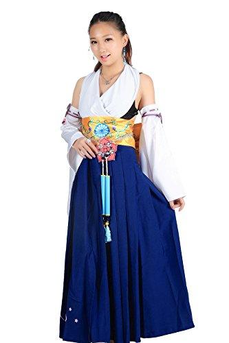 De-Cos Cosplay Costume Spira Summoner Yuna Summon Unifrom...